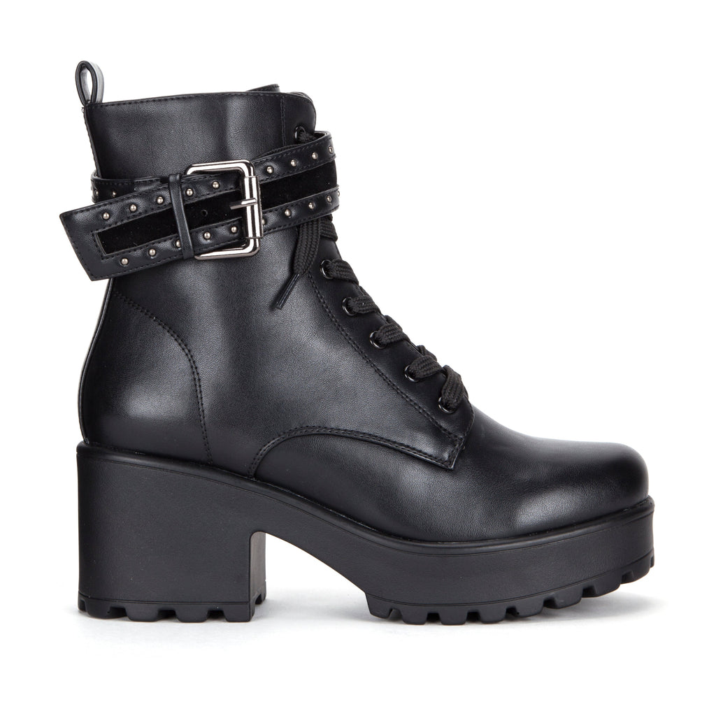 ALTAR Studded Strap Chunky Boots