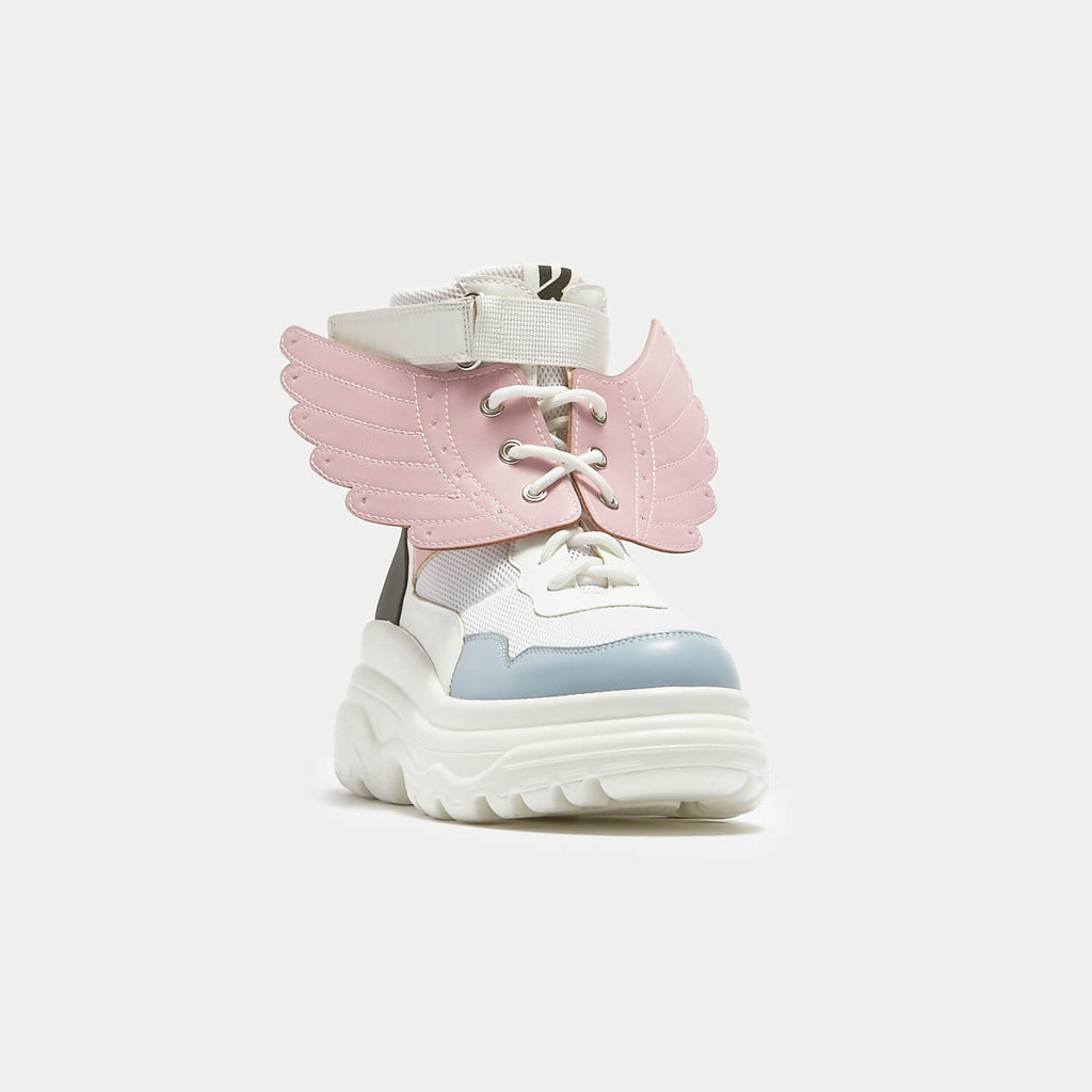 KOI Footwear Attachable Pink Angel Wings view 2
