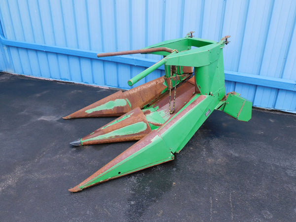 JD 2 ROW NARROW CHOPPER HEAD