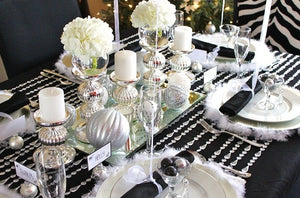 Table Linen & Center Pieces