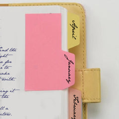 Tab Top Sticky Notes for Organizing Papers