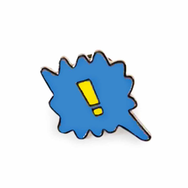 Speech Bubble Enamel Pin