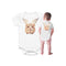Beyond Organic When Guinea Pigs Fly Baby Bums Bodysuit shown on Baby from back