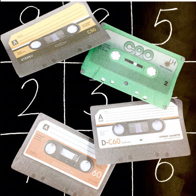 Mix Tape Sticky Notes