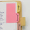 Tab Top Sticky Notes for Organizing calendars, organizers and study notes