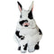 Black and White Spotted Bunny Removable Wall Decal
