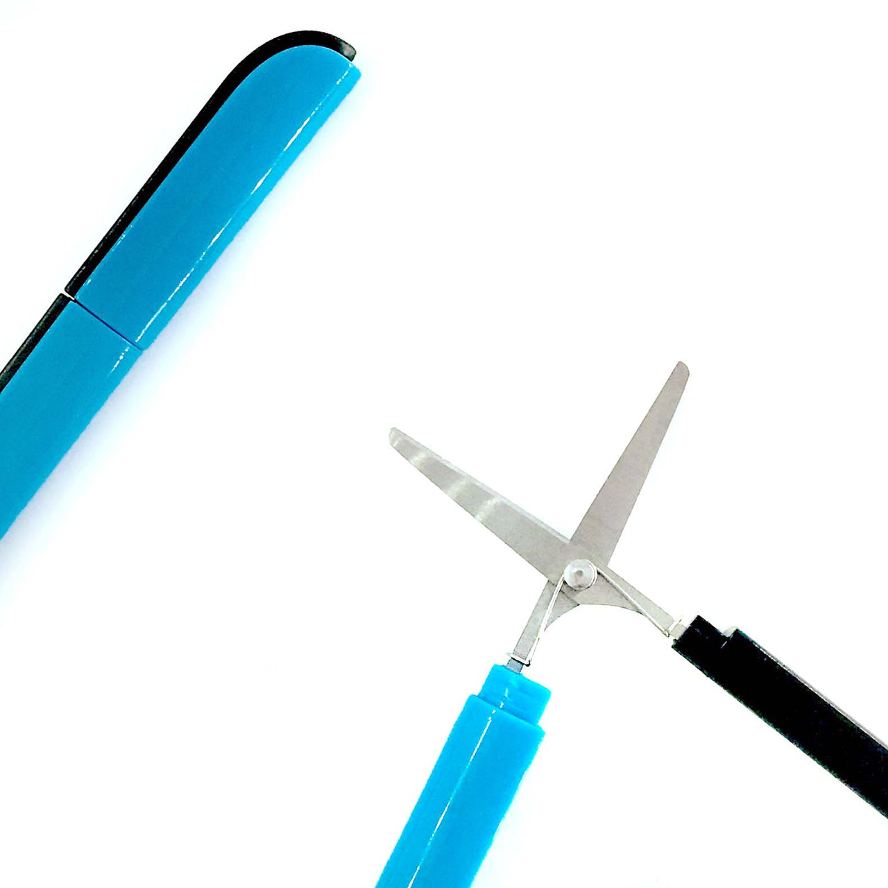 Collapsible Sewing Scissors Blue
