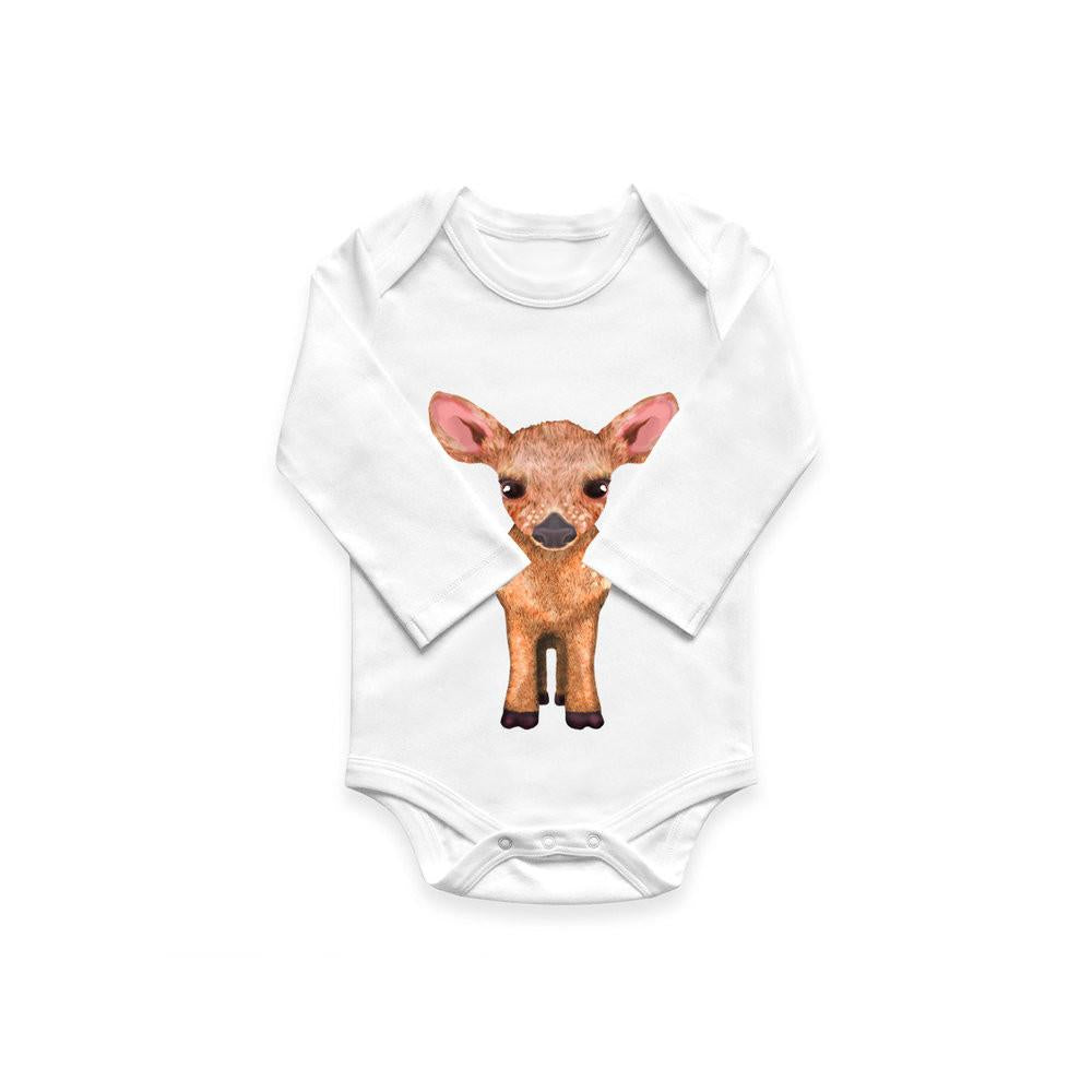 Fawn Organic Cotton Baby Onesie Bodysuit by Evolve Philly