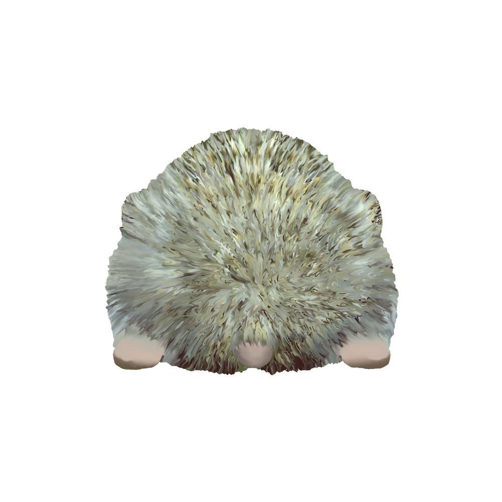 Hedgehog Butt Funny Removable Wall Decal by Evolve Philly