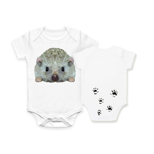 Hedgehog Organic Baby Onesie Bodysuit by Evolve Philly