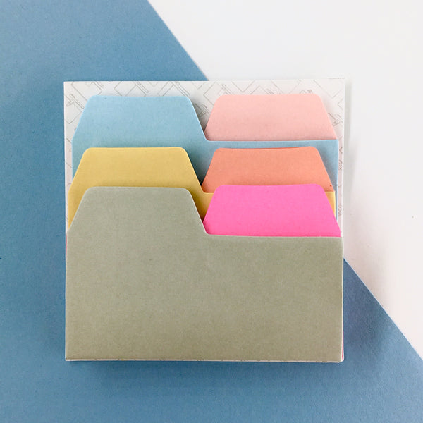 Tab-Top Sticky Notes