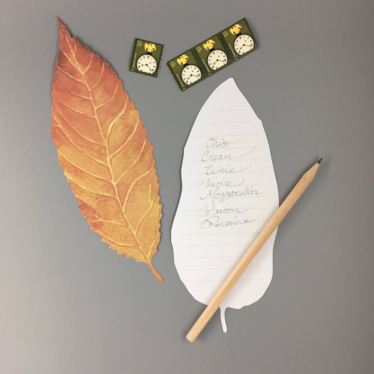 Four Seasons Leaf Notes