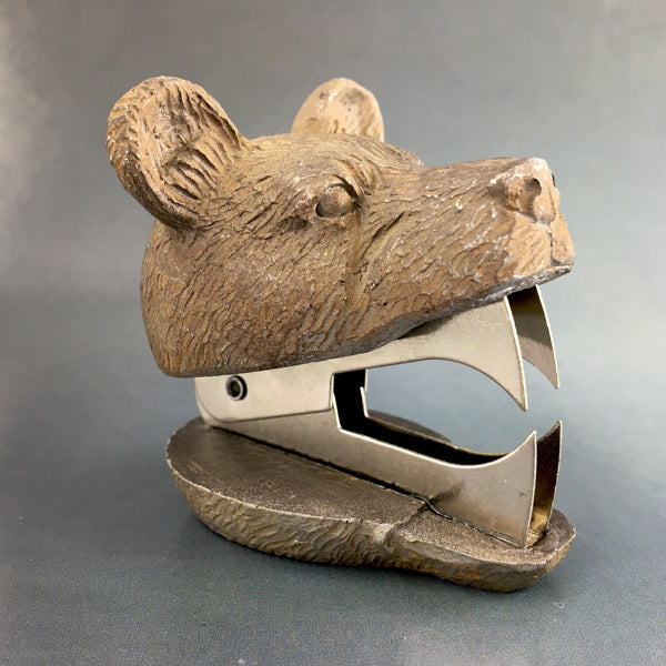 Grizzly Bear Head Staple Remover