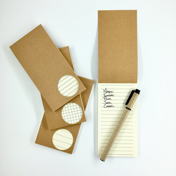 Kraft Pocket Notepad Set