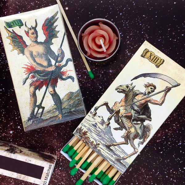 Afterlife Tarot King-Size Matchbox - Perfect for small KonMari organizing box