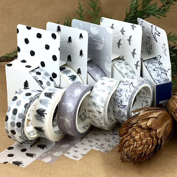 Norwegian Wood Washi Tape Set of 5 Styles