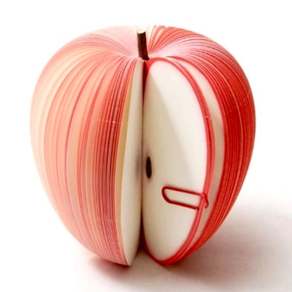 Gift for Teacher Apple Memo Pad