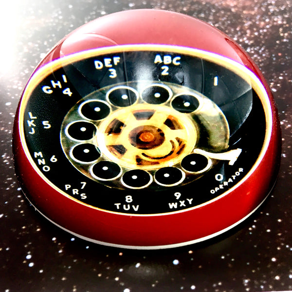 Rotary Phone Paperweight