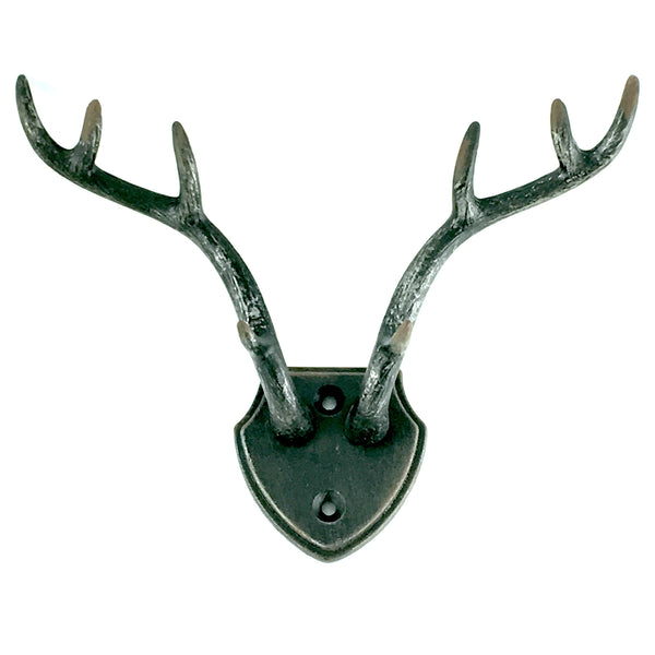 Antler Wall Hook in Black
