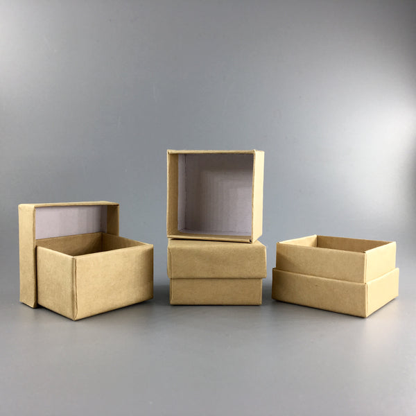 Kraft Tidying Boxes -Set of 4