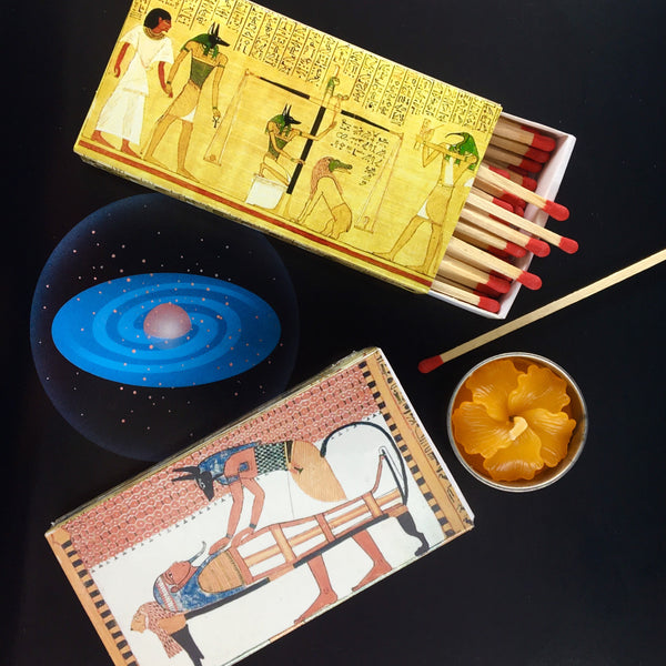 Egyptian Book of the Dead King-Size Matchbox - Perfect for small KonMari organizing box