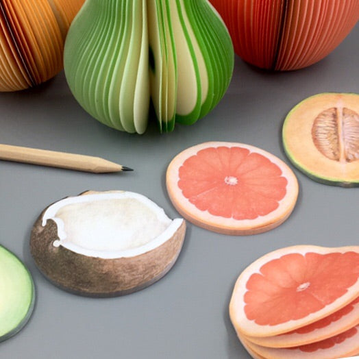Fruit Sketch Sticky Notes