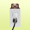 Owlet lightswitch topper decal shown on outlet