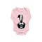 Skunk Organic Baby Onesie for Girl's Baby Shower