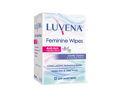 Luvena Anti Itch Wipes