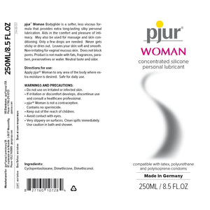 pjur Woman Silicone Personal Lubricant 3.04 oz Bottle