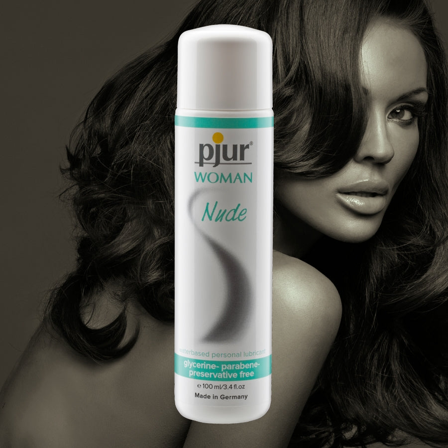 pjur Woman- Nude  Water-based lubricant 3.4 oz Bottle