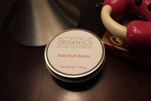 Baby Butt Butter- Organic Diaper Cream