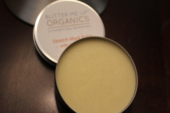 Organic Stretch Mark Body Butter with Argan Oil