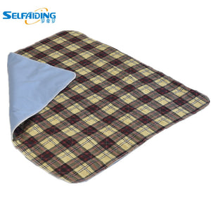 Waterproof Washable Bed Underpads ,Incontinence Sheets For Adult Sabanas Cama( 80 * 90 cm / 90*120 cm / 90*150cm ) PBP-109