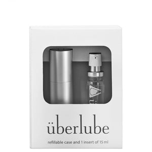 Uberlube Good To Go Silver  Multi-purpose Lubricant and Hair Styling Product