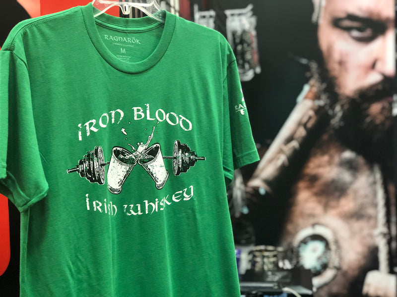 """Iron Blood Irish Whiskey"" T-Shirt"