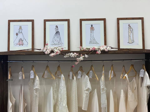 boho bridal boutique Sussex