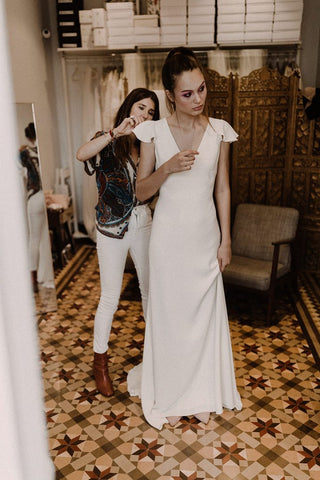Rock the Frock Bridal boutique | Modern bridal wear | Carolina Otaduy