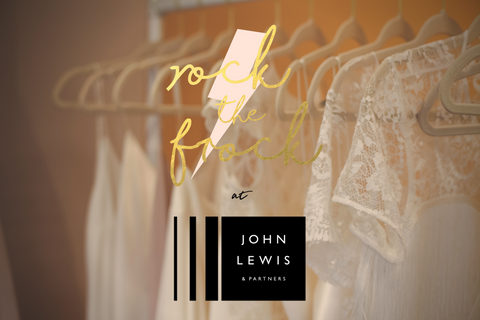 Rock the Frock Bridal | John Lewis pop up shop | Modern Bridal