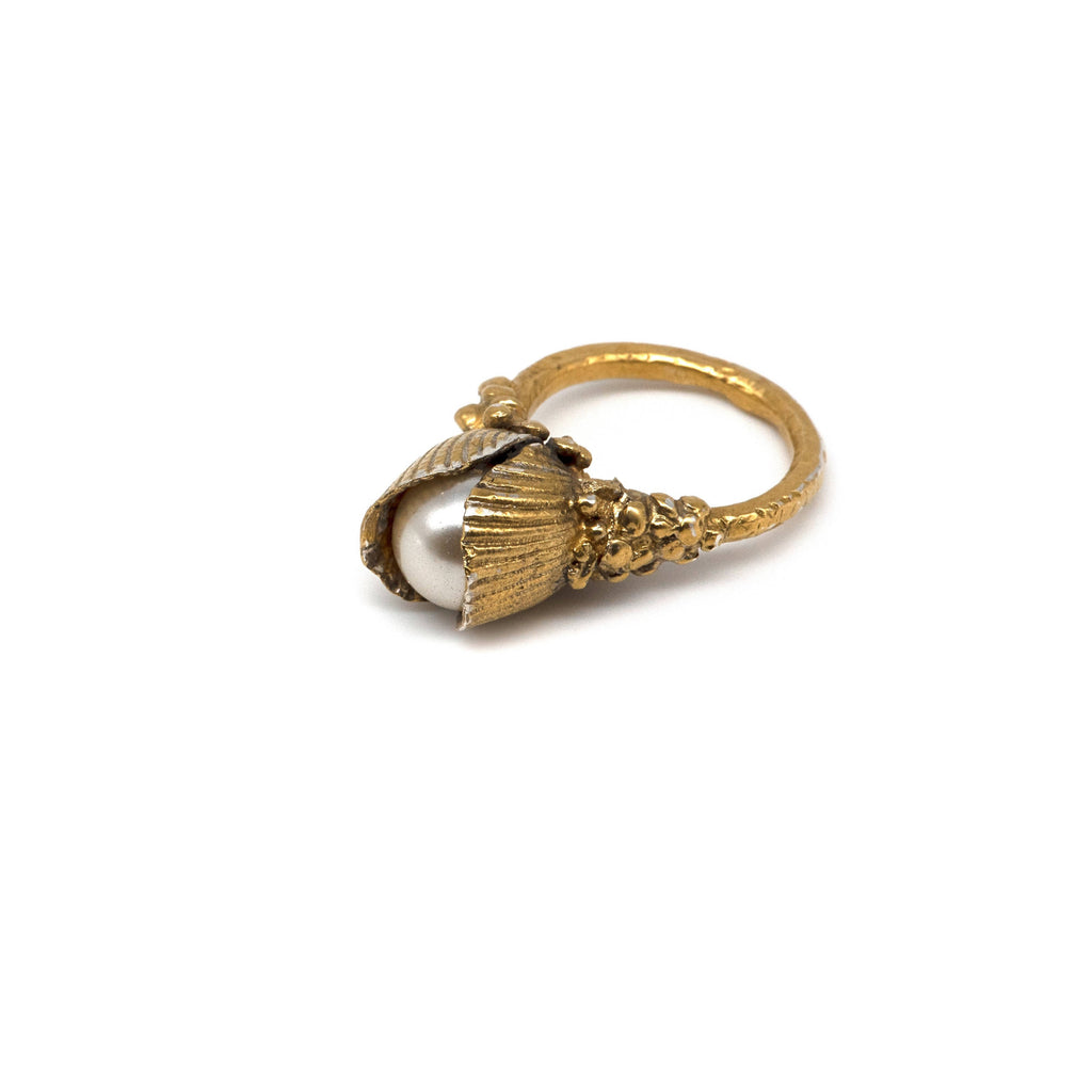 130930ea17382 Naida 9ct Gold Mermaid Ring – Rock The Frock Ltd