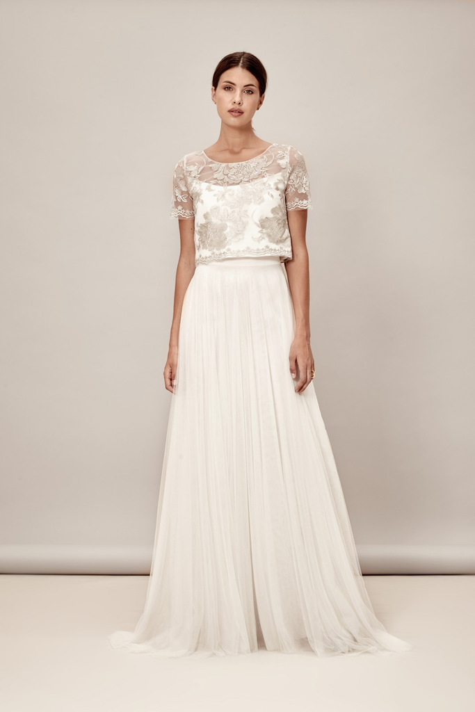 Tove Skirt by Muscat Bridal | Elegant Simplicity | Rock the Frock ...
