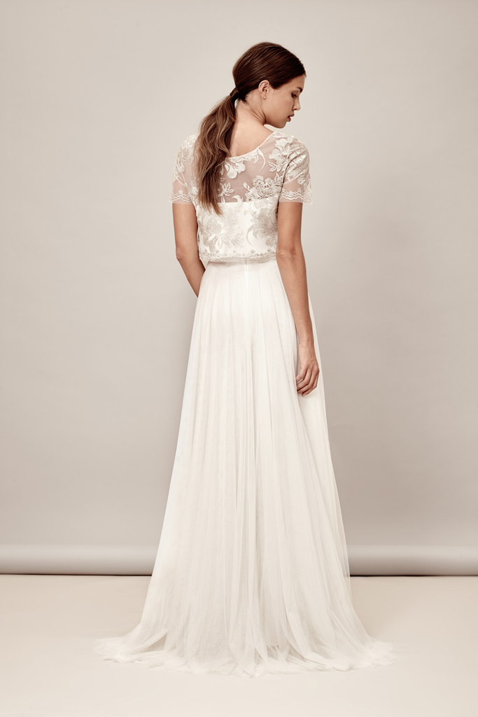Tove Skirt by Muscat Bridal | Elegant Simplicity | Rock the