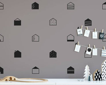 Stickers Minimalistes Style Nordique (Lot De 15)