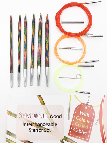 KnitPro Symfonie Interchangeable Circular Needle - Starter Set