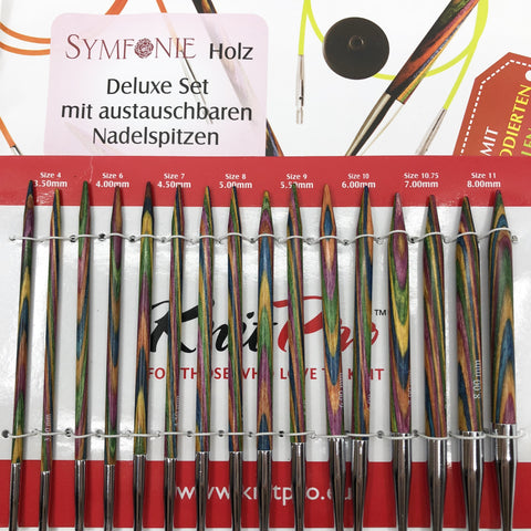KnitPro Symfonie Interchangeable Circular Needle - Deluxe Set