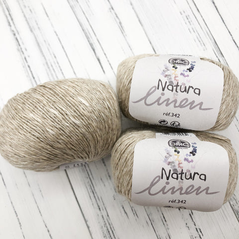 Natura Linen 10 Balls Value Pack