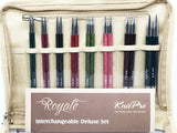 KnitPro Royale Interchangeable Circular Needle - Deluxe Set
