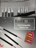 KnitPro Karbonz Interchangeable Needle Set - Deluxe Set