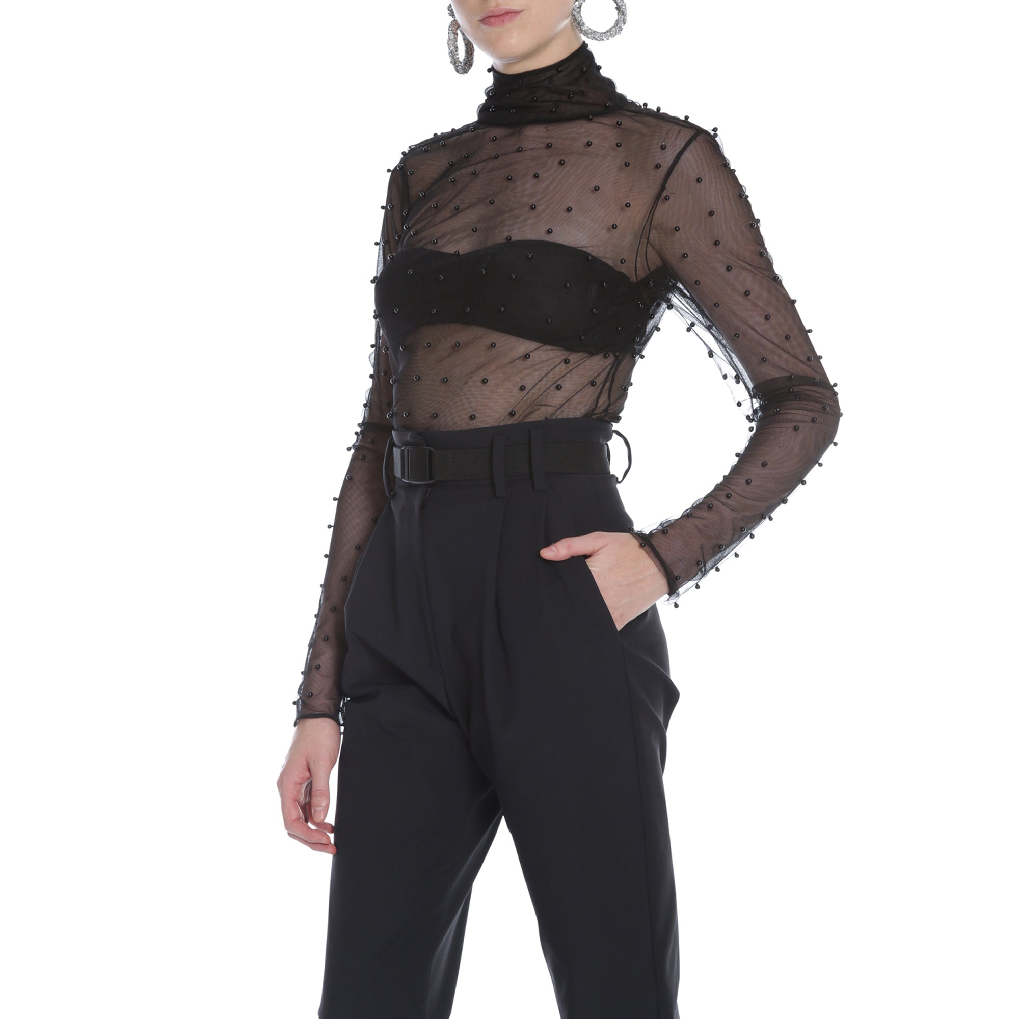 Dominique Top (Black)