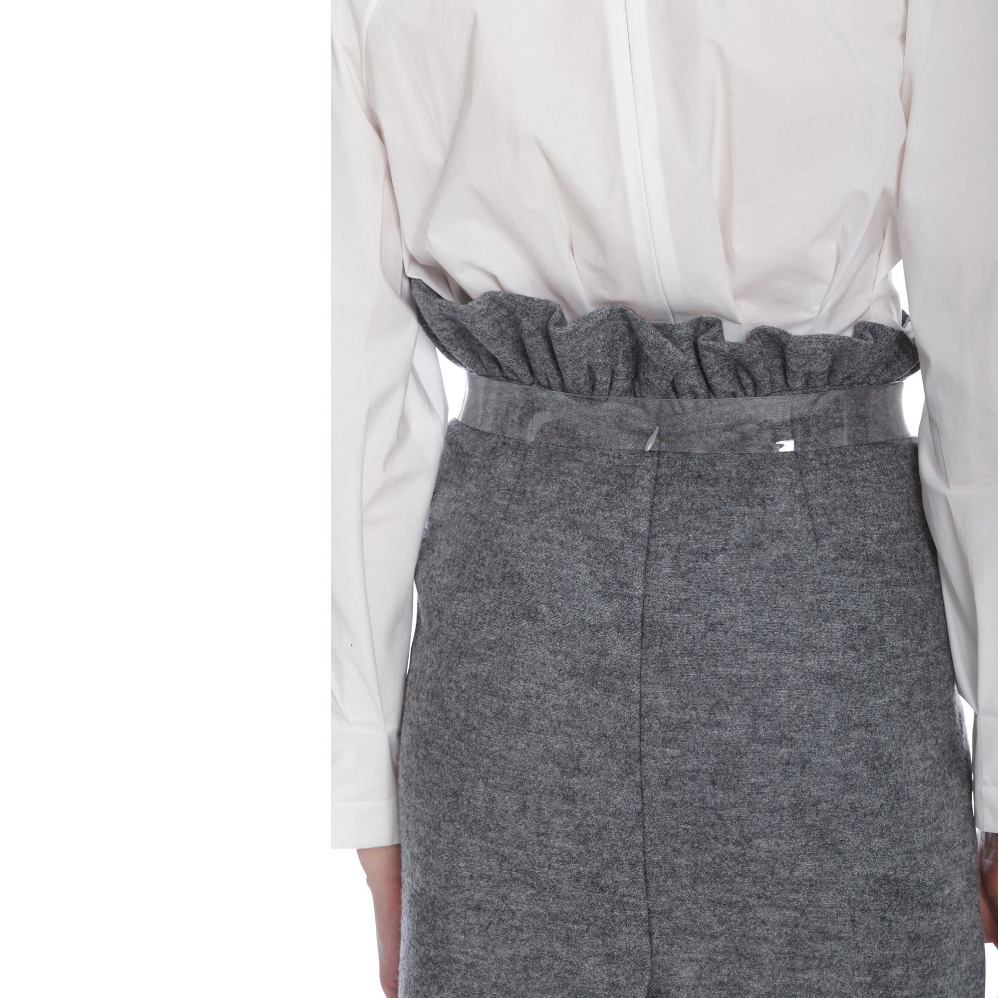 Gemma Skirt (Melange Grey)